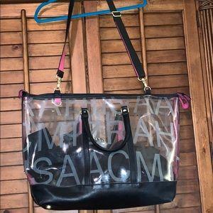 Isaac Mizrahi Large Clear Bag Tote